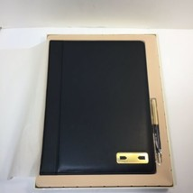 "Leather Padfolio and Pen Set Things Remembered 12.5"" x 9.5"" - $29.02"