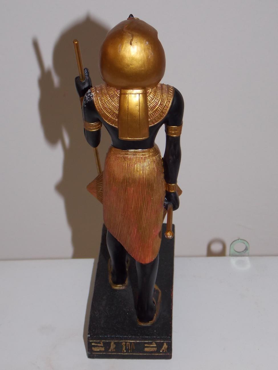 Egyptian Pharaoh Figurine Resin Statue