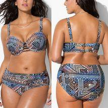 Women's Designer Push Up Bikini Summer Bathing Suit Plus Sizes image 1