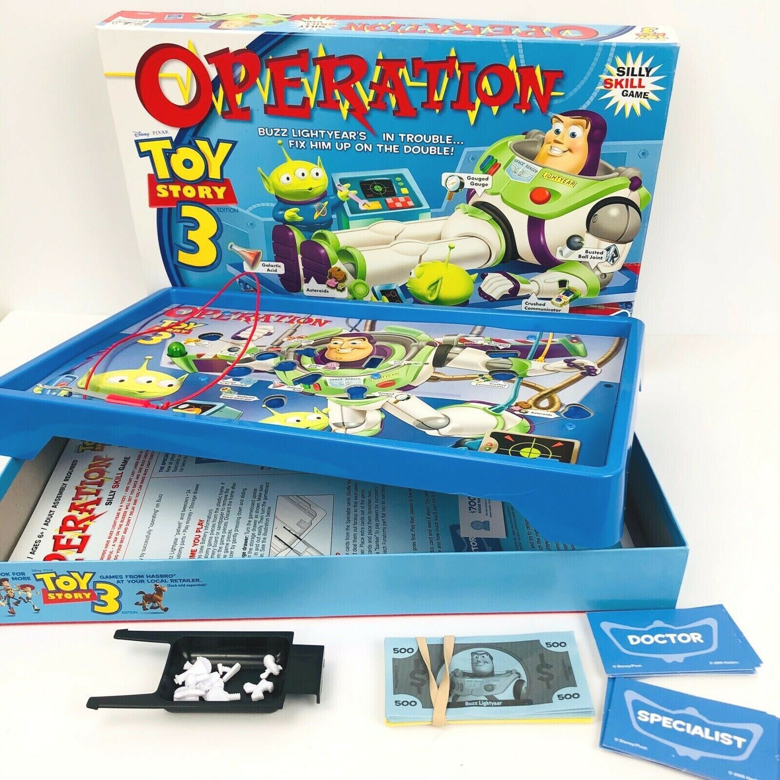Primary image for DISNEY Operation Toy Story 3 Buzz Lightyear Game 2009 Hasbro Pixar MB