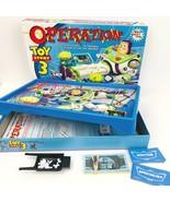 DISNEY Operation Toy Story 3 Buzz Lightyear Game 2009 Hasbro Pixar MB  - $29.69