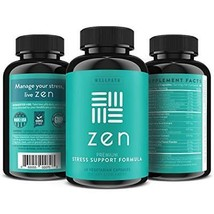 ZEN Premium Anxiety And Stress Relief Supplement - Natural Herbal Formula To & image 2