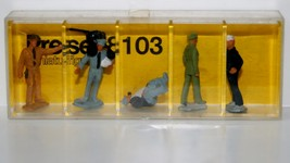AHM/Preiser 5 Miniature Figures 8103 New