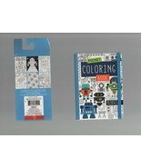 Pocket Coloring Books - 80 Sheets - Robots, Space & Future with Closing ... - $4.89
