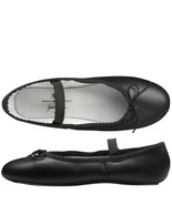 Spotlights Ballet Shoes ABT Womens Choose Size Black Leather Full Sole D... - $18.95