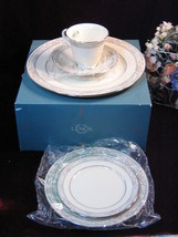 Vintage Lenox China Charleston Dinner Plate Place Setting, New in Box, 1... - $59.99