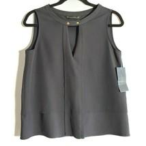 ZARA Womens Basic Black Top Sleeveless Size M - $20.36