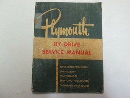 1954 Plymouth HY Drive Service Repair Shop Manual FACTORY OEM USED CHRSY... - $19.79