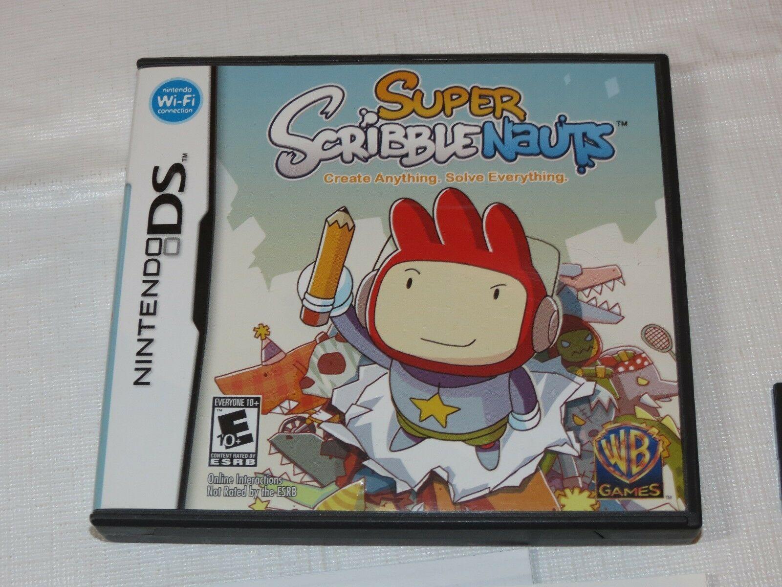 Super Scribblenauts Nintendo DS 2010 E10 +Everyone 10+NTR-BH2E-USA D'Occasion image 2