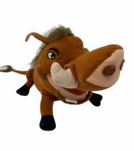 """The Lion King Pumbaa Plush Brown Warthog Pig Toy Factory Stuffed Animal 7"""" - $12.99"""