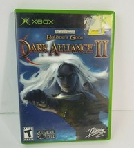 Baldur's Gate: Dark Alliance II 2 (Microsoft XBOX, 2004) - Complete w/ M... - $26.72