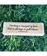 Stampin' Up! Sending A Bouquet Of Love Rubber Stamp Always in Bloom Wooden  - $10.39