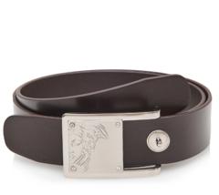 Versace Collection Belt V91S201 VM00046 Brown 100% Leather - $89.99