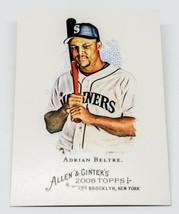 Mlb Adrian Beltre Seattle Mariners 2008 Topps Allen & Ginter Baseball #101 Mnt - $1.07