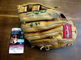 WILLIE MAYS # 24 NEW YORK GIANTS HOF SIGNED AUTO RAWLINGS OR517 GLOVE MI... - $1,484.99