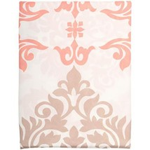Mainstays Coral Damask Shower Curtain - $16.73