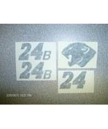 """JEFF GORDON""""COUGAR""""24B""""BLACK-TEST-DECALS1/24 - $2.95"""
