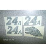 """JEFF GORDON""""T-REX-DINO""""24A""""BLACK-TEST-DECALS1/24 - $3.59"""
