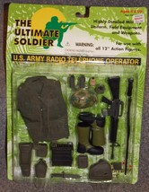 1997 21st Century Toys Ultimate Soldier US Army Radio Telephone Operator... - $29.99