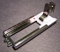 SimSel Metal Low Shank Sliding Buttonhole Zig Zag 9mm slot foot - Fits Low Shank - $8.90