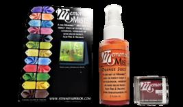 "Memories Mists, Includes 2 fl. oz. Orange Juice Mist and 1""x1"" Chalk Ink Pad"