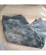 Woman Within Stretch Jeans Splash Detail Women's Size 24W   - $24.99