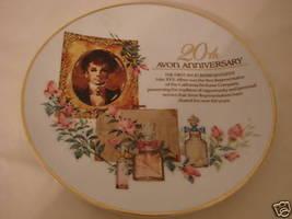 441  Avon 20th Anniv. Plate Porcelain with 22k gold trim - $29.99