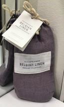 Restoration Hardware Stonewashed Belgian Linen Lumbar Pillow Sham Orchid NEW $79 - $29.99