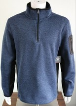 Men's Beverly Hills Polo Club Sweatshirt Size L MSRP 48 Navy - $30.24