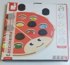 Coccimemo Janod Wooden Memory Educational Child Game - $21.49