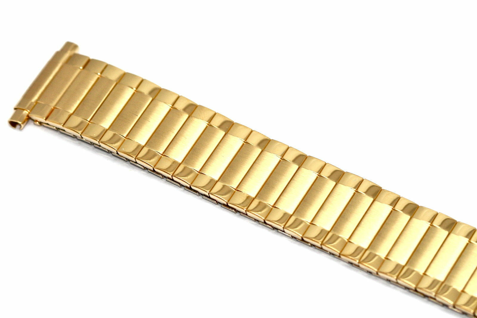 Primary image for SPEIDEL 16-22MM EXTRA LONG GOLD RADIAL TWIST O FLEX EXPANSION WATCH BAND STRAP