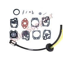 Carb Kit & Fuel Line kit & F WALBRO K20-WYL WYL-240-1 WYL-242-1 WYL-19-1... - $4.86