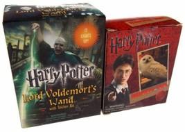 Set of 2 Harry Potter Hedwig Owl Horcrux Locket Hogwarts Castle Voldemor... - $14.99
