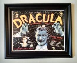 DRACULA movie poster - 11 x 14 canvas transfer print - Bela Lugosi - $31.95