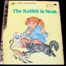 "Vintage Little Golden Book ""The Rabbit is Next"" 2nd Print 1980  - £5.80 GBP"