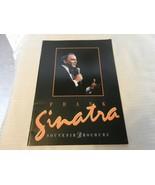 Frank Sinatra Souvenir Brochure Concert Program Book 1990s - $22.28
