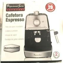 Professional Series Collezioni Espresso & Cappuccino Maker PS-CE028 New ... - $122.26