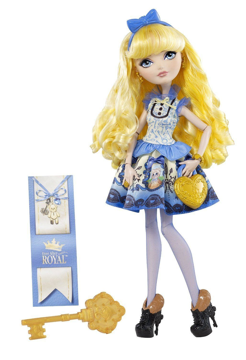 Ever After High Blondie Lockes Fashion Doll, 6+, Mattel