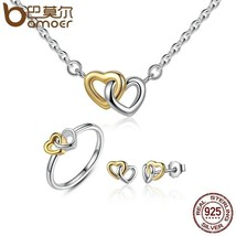 Heart to Heart Jewelry Sets by BAMOER - $31.24