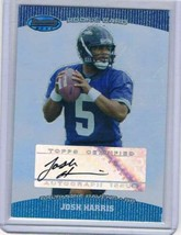 2004 Bowman's Best #136 Josh Harris Rookie Card Auto  - $14.68