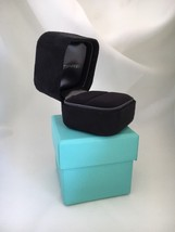 Tiffany & Co Presentation Black Suede Engagement Ring Box and Blue Box - €101,24 EUR