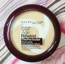 Maybelline Instant Age Rewind Skin Smoothing Powder Fair 10 New Not Sealed - $8.32