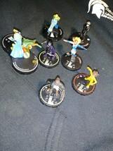 Heroclix 7 piece lot DC Comics Heroclix Figures - $15.54