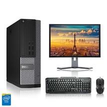 Dell Computer 2.8 G Hz Pc 4GB Ram 250 Gb Hdd Windows 10 - $358.80