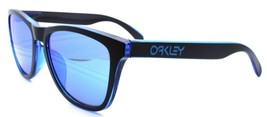 Oakley Frogskins OO9245-4854 Men's Sunglasses Eclipse Blue / Sapphire Ir... - $93.75