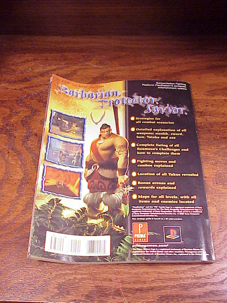 The Mark of Kri Prima Official Strategy Guide Book, for PS2, Playstation 2