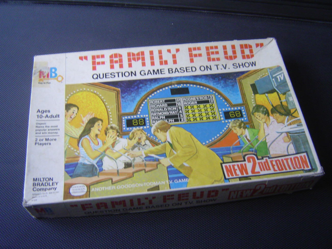 vintage 1978 milton bradley family feud 3rd and 50 similar items. Black Bedroom Furniture Sets. Home Design Ideas