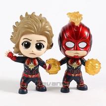 Marvel Captain Marvel Masked Starforce Version Cosbaby Doll PVC Figure C... - $15.50