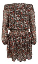$155 Michael Kors Women's Ballet Off Shoulder Dress Floral Size  P/S - $132.41