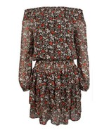 $155 Michael Kors Women's Ballet Off Shoulder Dress Floral Size  P/S - $99.28